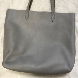 Madewell Transport Tote in Dusk Gray